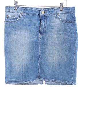 Lee Jeansrock blau Casual-Look