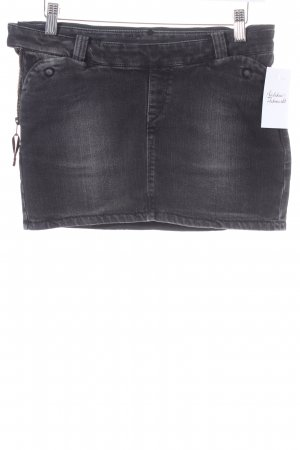 Lee Jeansrock schwarz Casual-Look