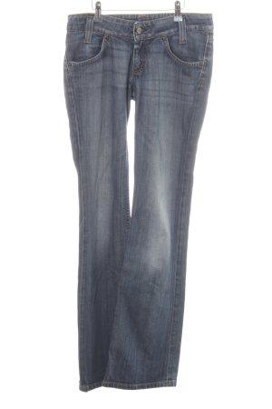 Lee Jeans a zampa d'elefante blu stile casual