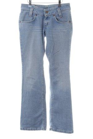 Lee Jeans a zampa d'elefante blu stile jeans
