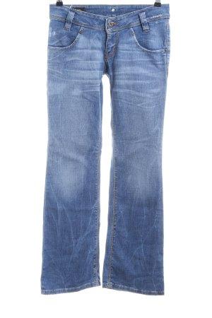 Lee Jeansschlaghose blau Casual-Look