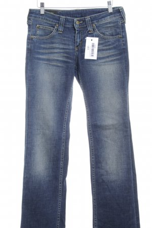 Lee Denim Flares dark blue-brown casual look