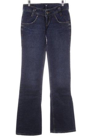 Lee Jeansschlaghose dunkelblau Casual-Look