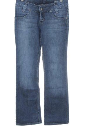 Lee Jeans flare bleu foncé style décontracté
