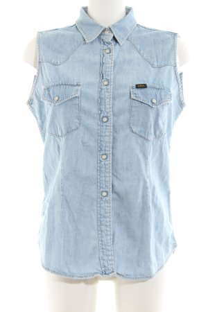 Lee Jeansweste blau Casual-Look