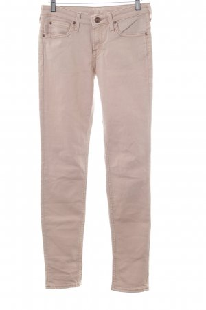 Lee Drainpipe Trousers nude casual look
