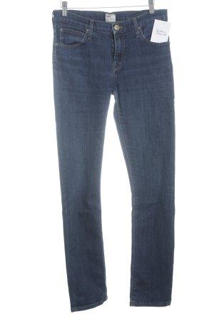 Lee Röhrenjeans stahlblau Jeans-Optik