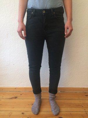 Lee Scarlett High Jeans Röhren-Hüftjeans, W28/L31