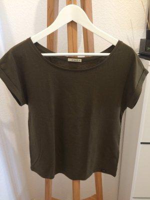 Lee Shirt Baumwolle grün Größe XS