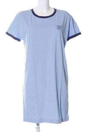 Lee Shirtkleid blau Casual-Look