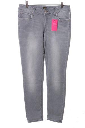 Lee Skinny Jeans hellgrau Casual-Look