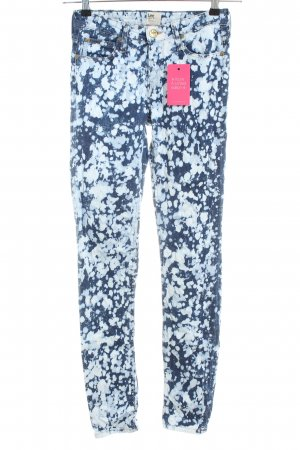 Lee Skinny Jeans blau-weiß Casual-Look