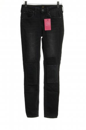 Lee Skinny Jeans anthrazit Casual-Look