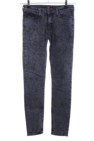 Lee Skinny Jeans blau meliert Casual-Look
