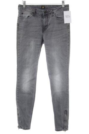 Lee Skinny Jeans dunkelgrau Casual-Look
