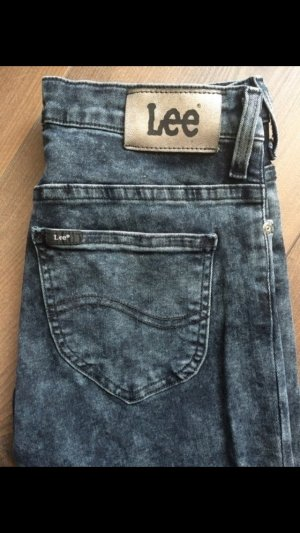 Lee Skinny Jeans grau-schwarz
