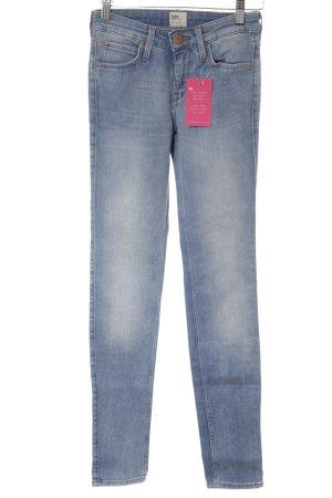 Lee Skinny Jeans hellblau Casual-Look