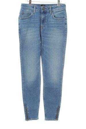Lee Skinny Jeans himmelblau Washed-Optik