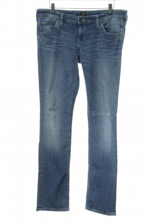 Lee Skinny Jeans kornblumenblau Casual-Look
