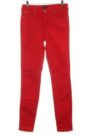 Lee Skinny Jeans rot Casual-Look