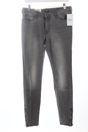 """Lee Skinny Jeans """"Scarlett Zip"""" dunkelgrau"""