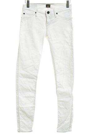 Lee Skinny Jeans weiß Casual-Look