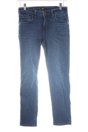 Lee Slim Jeans blau Casual-Look