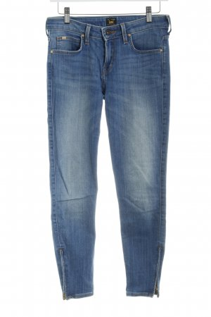 Lee Slim Jeans blau Casual-Look