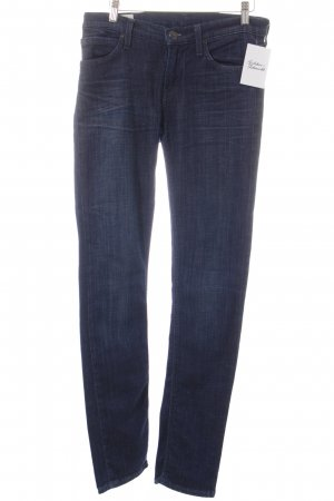 Lee Slim Jeans dunkelblau Casual-Look