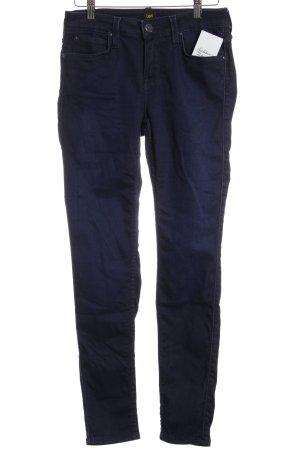 Lee Slim Jeans dunkelblau klassischer Stil