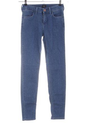 Lee Slim Jeans blau Business-Look