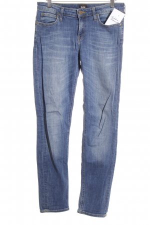Lee Slim Jeans graublau Casual-Look