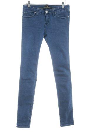 Lee Slim Jeans graublau Jeans-Optik