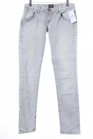 Lee Slim Jeans hellgrau Casual-Look