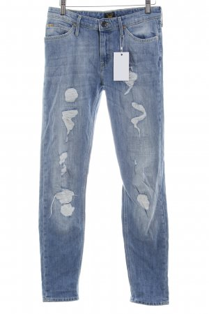 Lee Slim Jeans kornblumenblau Casual-Look