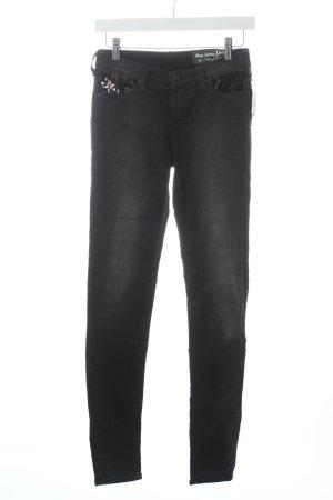 Lee Slim Jeans schwarz-grau schlichter Stil