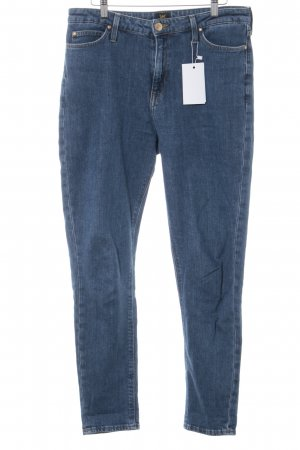 Lee Slim Jeans stahlblau Casual-Look