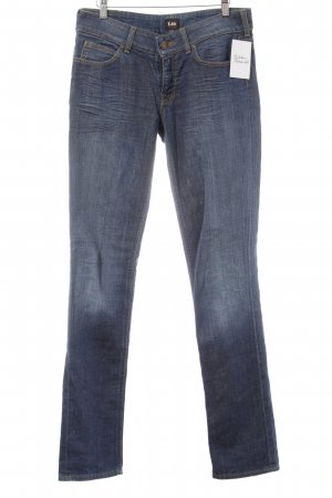 Lee Straight-Leg Jeans dunkelblau Casual-Look