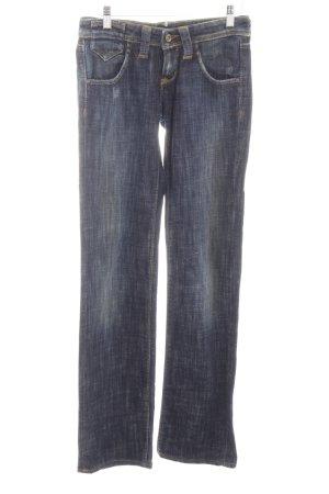 Lee Straight-Leg Jeans dunkelblau Jeans-Optik