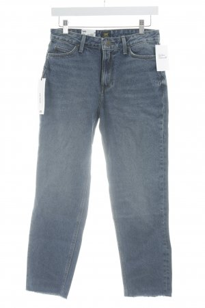 Lee Straight-Leg Jeans graublau-stahlblau Casual-Look