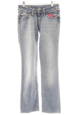 Lee Straight-Leg Jeans himmelblau Casual-Look