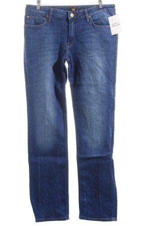 "Lee Straight-Leg Jeans ""Marlin"" blau"