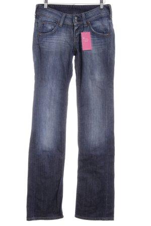Lee Straight-Leg Jeans stahlblau Casual-Look
