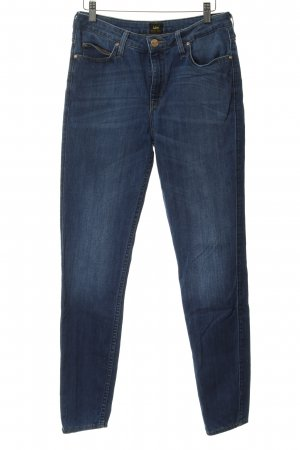 Lee Straight-Leg Jeans stahlblau Casual-Look