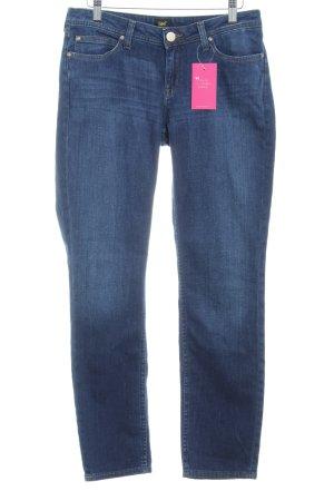 Lee Stretchhose dunkelblau Jeans-Optik