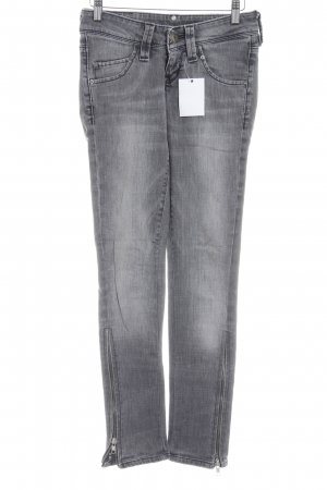 Lee Stretchhose hellgrau Casual-Look