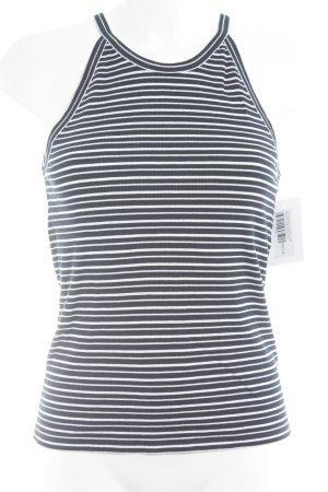 Lee Trägertop dunkelblau-weiß Streifenmuster Casual-Look