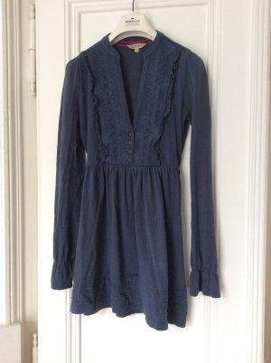 leger-festliches Langarm-Kleid von Review