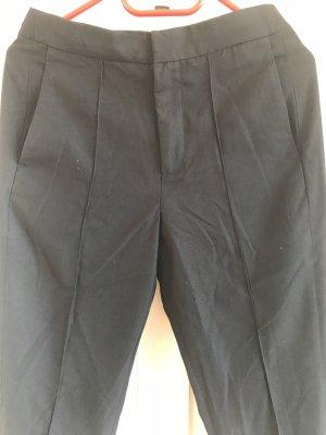 Pantalon en jersey bleu foncé coton