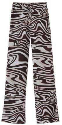 Legere Hose in Zebradessin Michael Michael Kors